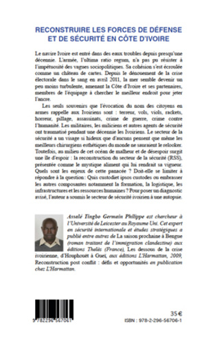 4eme Reconstruire les forces de défense et de sécurité en Côte d'Ivoire