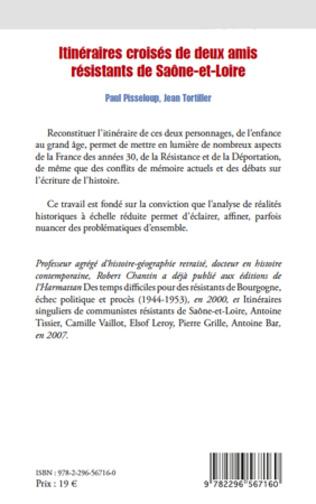 4eme Itinéraires croisés de deux amis résistants de Saône-et-Loire
