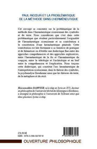 4eme Paul Ricoeur et la problématique de la méthode dans l'herméneutique