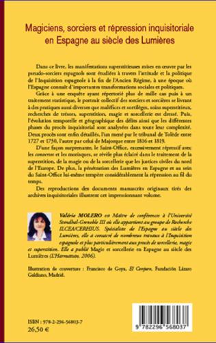 4eme Magiciens, sorciers et répression inquisitoriale en Espagne au siècle des Lumières