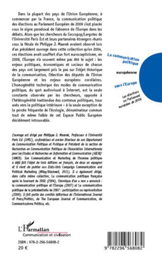 4eme La communication politique européenne sans l'Europe