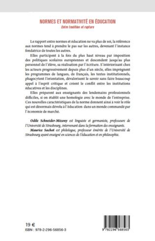 4eme Normes et normativité en éducation