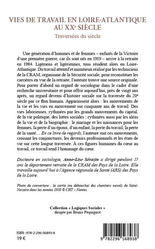 4eme Vies de travail en Loire-Atlantique au XXe siècle