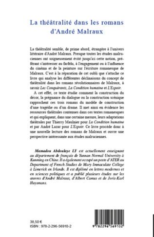 4eme La théâtralité dans les romans d'André Malraux