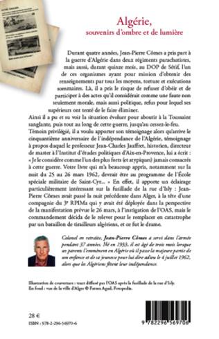 4eme Algérie, souvenirs d'ombre et de lumière