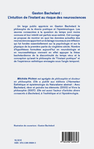 4eme Gaston Bachelard : L'intuition de l'instant au risque des neurosciences