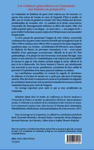 4eme Les violences génocidaires au Guatemala, une histoire en perspective