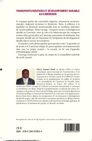 4eme Transports routiers et développement durable au Cameroun