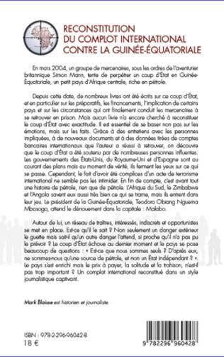 4eme Reconstitution du complot international contre la Guinée-Equatoriale