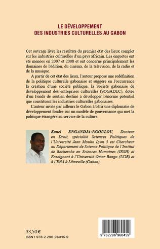 4eme Le développement des industries culturelles au Gabon