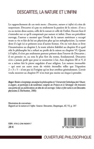 4eme Descartes, la nature et l'infini