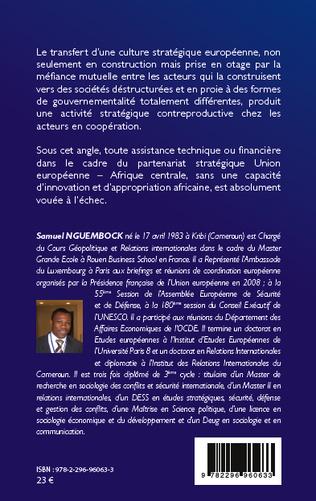 4eme La politique européenne de sécurité et de défense en Afrique centrale