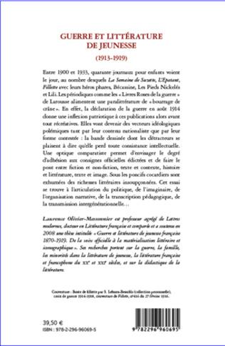4eme Guerre et littérature de jeunesse (1913-1919)