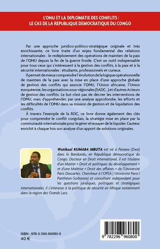 4eme L'ONU et la diplomatie des conflits