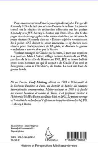4eme John F. Kennedy, la France et le Maghreb