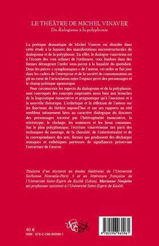 4eme Le théâtre de Michel Vinaver