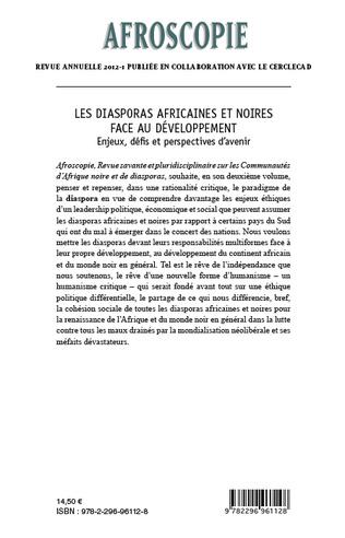 4eme Les diasporas africaines et noires face au développement