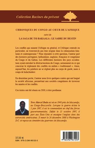 4eme Chroniques du Congo au coeur de l'Afrique