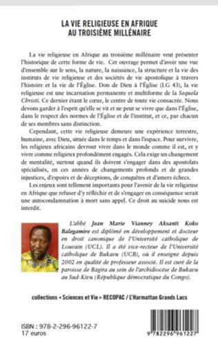 4eme La vie religieuse en Afrique au troisième millénaire