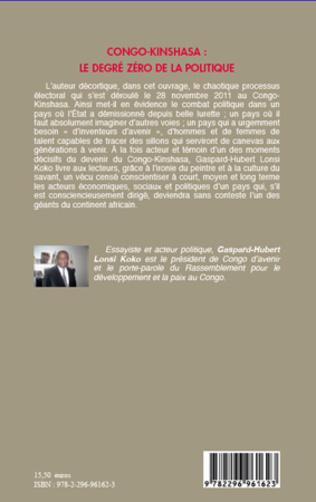 4eme Congo-Kinshasa : le degré zéro de la politique