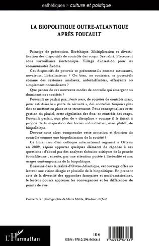 4eme La biopolitique outre-atlantique après Foucault