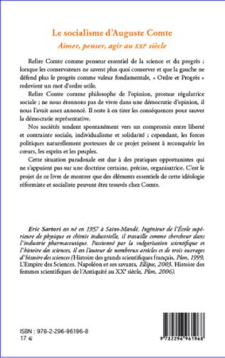 4eme Socialisme d'Auguste Comte