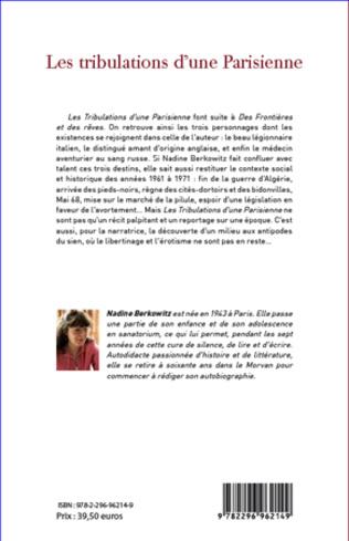 4eme Les tribulations d'une parisienne