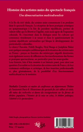 4eme Histoire des artistes noirs du spectacle français