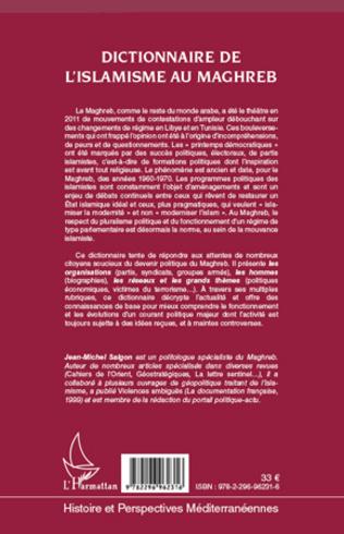 4eme Dictionnaire de l'islamisme au Maghreb