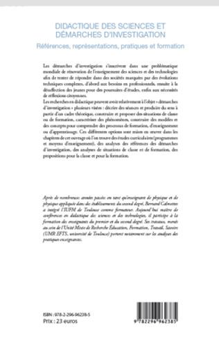4eme Didactique des sciences et démarches d'investigation