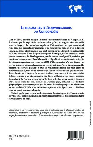 4eme Le blocage des télécommunications au Congo-Zaïre