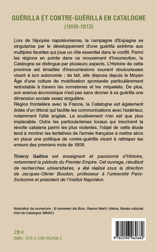 4eme Guérilla et contre-guérilla en Catalogne (1808-1813)