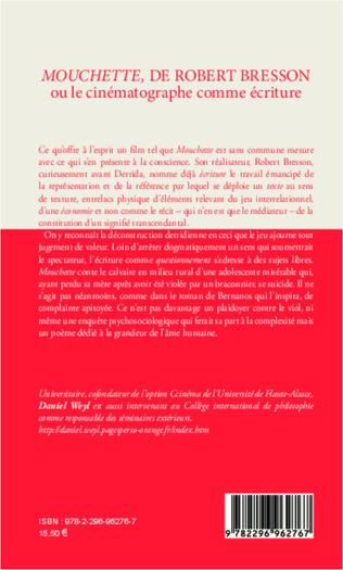 4eme <em>Mouchette</em>, de Robert Bresson