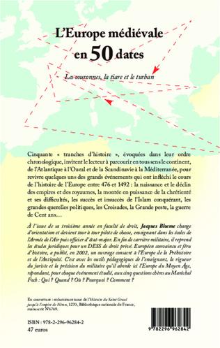 4eme L'Europe médiévale en 50 dates