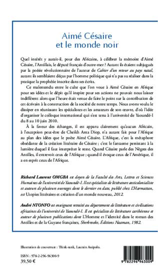 4eme Aimé Césaire et le monde noir