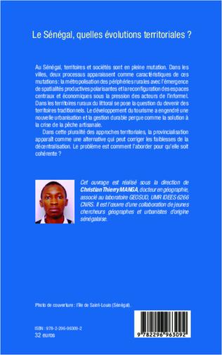 4eme Le Sénégal, quelles évolutions territoriales ?