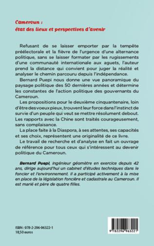 4eme Cameroun: état des lieux et perspectives d'avenir