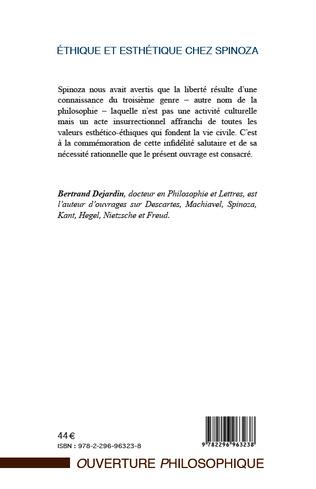 4eme Ethique et esthétique chez Spinoza