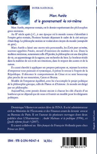 4eme Marc Aurèle et le gouvernement de soi-même