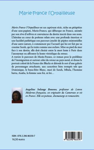 4eme Marie-France l'orpailleuse