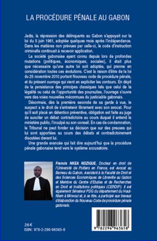 4eme La procédure pénale au Gabon