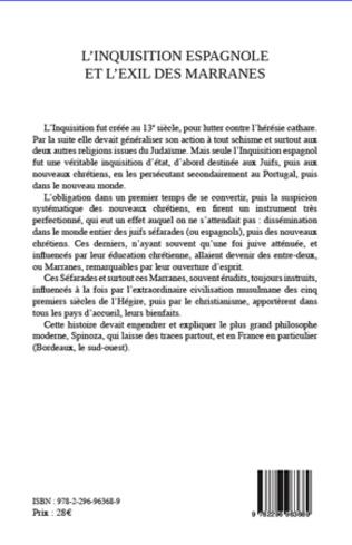 4eme L'inquisition espagnole et l'exil des Marranes