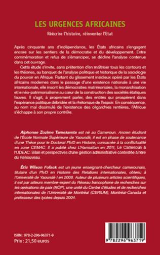 4eme DE LA TYPOLOGIE DES DYNAMIQUES CONFLICTUELLES EN AFRIQUE CENTRALE DEPUIS LA FIN DE LA GUERRE FROIDE