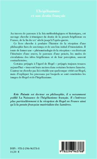 4eme L'hégélianisme et son destin français