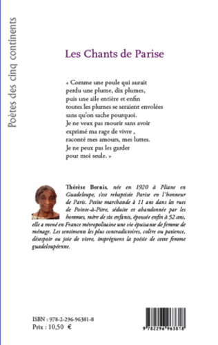 4eme Les chants de Parise