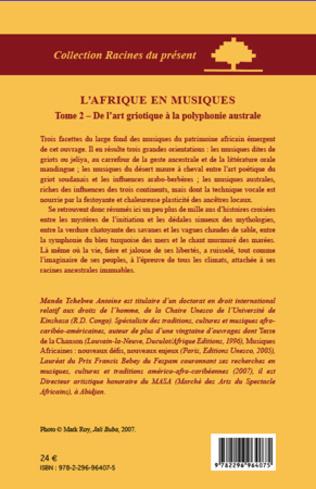 4eme L'Afrique en musiques (Tome 2)