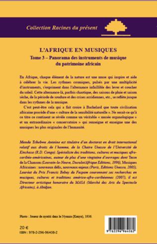 4eme L'Afrique en musiques (Tome 3)