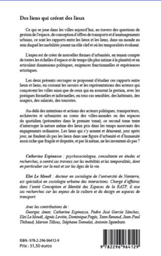 4eme Lieux et liens  (Tome 2)