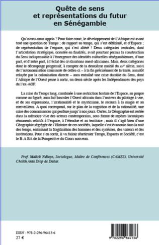 4eme Quête de sens et représentations du futur en Sénégambie du XVe au milieu du XIXe siècle