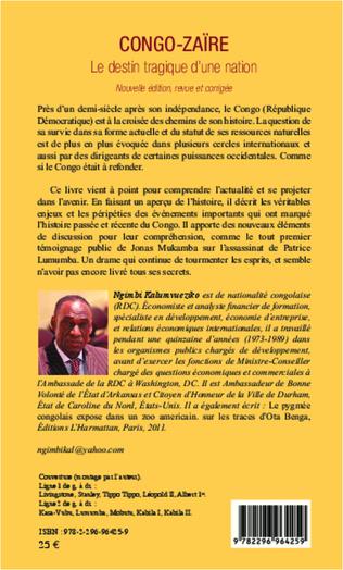 4eme Congo-Zaïre le destin tragique d'une nation